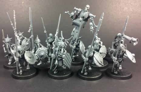 Deathrattle Skeleton Warriors