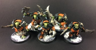 Ironjawz Brutes with Choppas