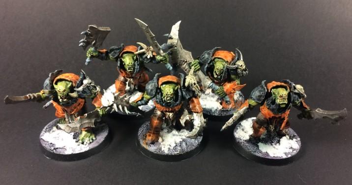 Ironjawz Brutes with Choppas