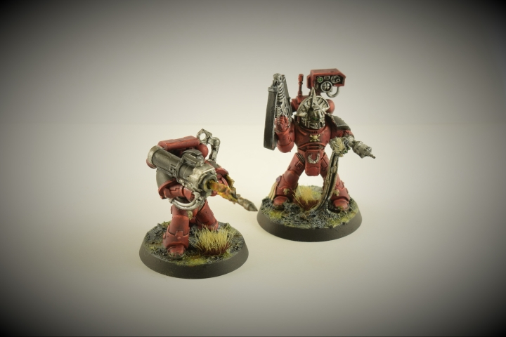 Blood Angels Devastator Fire