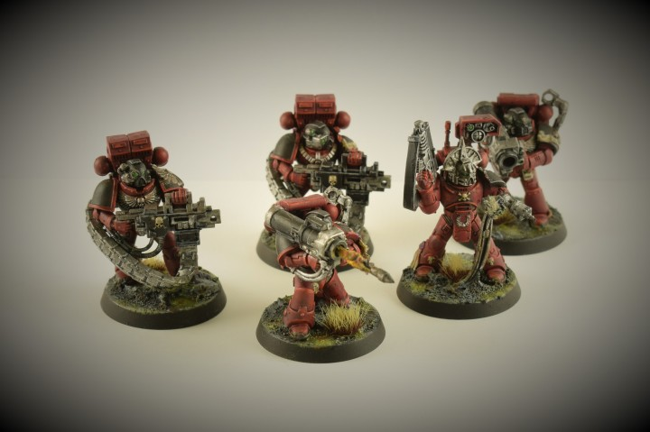 Blood Angels Devastator Squad