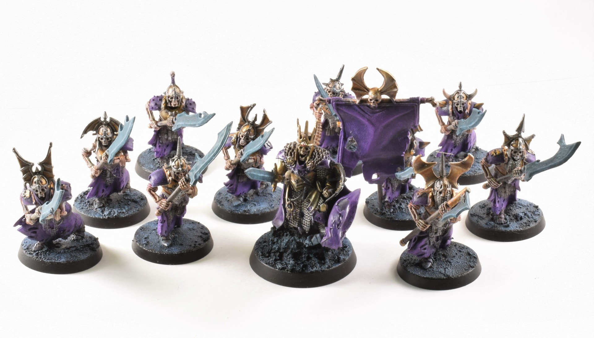 Grave Guard with Wight King Purple