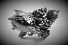Grundstock Gunhauler Primed Silver Body