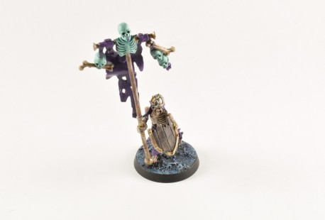 Skeleton Standard Bearer